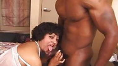 Big hairy NRI Indian milf takes black and white men