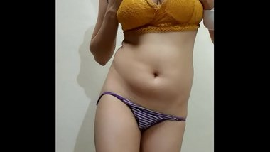 Indian Teen Girl Self Touching