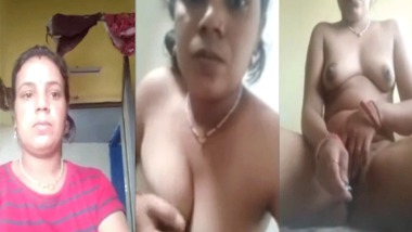 hot new Desi Bhabhi nude selfie MMS video