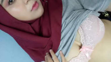 Desi hot hijab girl boobs showing and fucking part 4