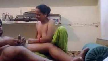 Horny Indian Wife Blowjob and Riding Husband Dick