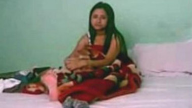 Desi Indian Fucked in bed by younger lover