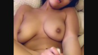 Super horny cute girl masturbation